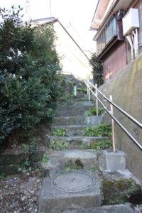 近くの階段道路の写真
